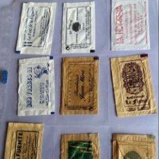Sobres de azúcar de colección: LOTE 9 SOBRES DE AZÚCAR - ANTIGUOS - VARIADOS - ESPECIAL COLECCIONISTAS - VER FOTOS ADICIONALES. Lote 140453118