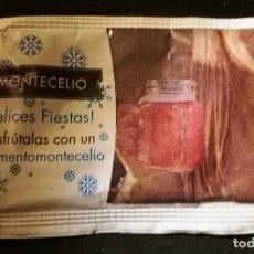 Sobres de azúcar de colección: SOBRE DE AZUCAR MONTECELIO (LLENO). Lote 147164946