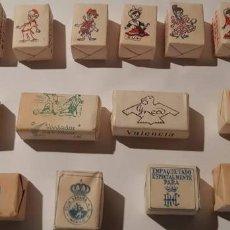 Sobres de azúcar de colección: 14 TERRONES ANTIGUOS Y EXCLUSIVOS.. Lote 147254566