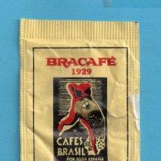 Sobres de azúcar de colección: SOBRES DE AZÚCAR CASA BRACAFÈ FUNDADA AÑO 1929 . Lote 147842394