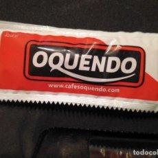 Sobres de azúcar de colección: SOBRE DE AZUCAR LLENO CAFES CAFE OQUENDO SABIAS QUE 18/48. Lote 154534570