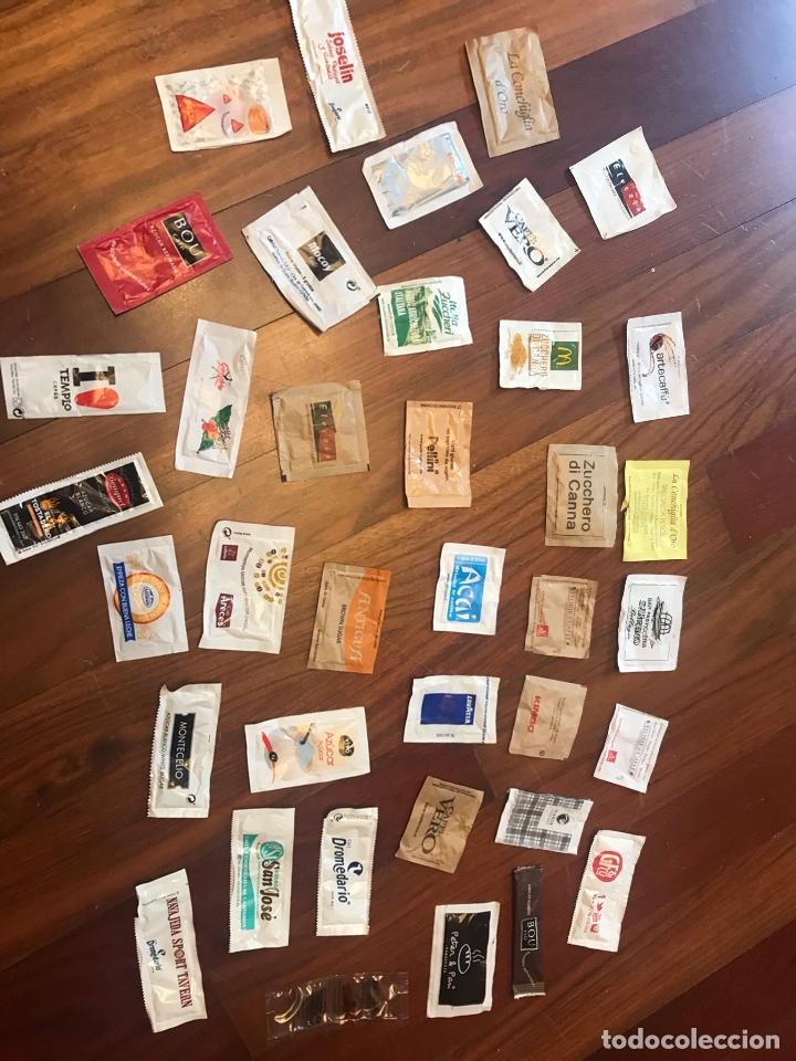Sobres de azúcar de colección: Lote de 38 sobres de azucar diferentes - Foto 5 - 164907094