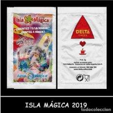 Sobres de azúcar de colección: SOBRE AZÚCAR ISLA MÁGICA 2019. Lote 169158538