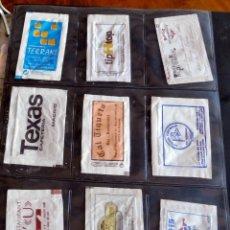 Sobres de azúcar de colección: LOTE 9 SOBRES AZÚCAR VARIADOS - ESPECIAL COLECCIONISTAS - VER FOTOS ADICIONALES. Lote 175718635