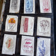 Sobres de azúcar de colección: LOTE 9 SOBRES AZÚCAR VARIADOS - ESPECIAL COLECCIONISTAS - VER FOTOS ADICIONALES. Lote 175719062