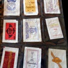 Sobres de azúcar de colección: LOTE 9 SOBRES AZÚCAR VARIADOS - ESPECIAL COLECCIONISTAS - VER FOTOS ADICIONALES. Lote 175808638