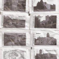 Bustine di zucchero di collezione: LA GARROTXA COLECCIÓN COMPLETA. Lote 176808025