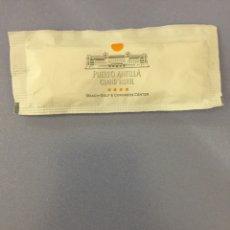 Sobres de azúcar de colección: SOBRE DE AZÚCAR LLENO DE PUERTO ANTILLA GRAND HOTEL. Lote 177655254