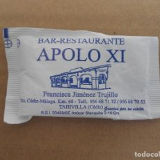 Sobres de azúcar de colección: BAR RESTAURANTE APOLO XI. Lote 178334078