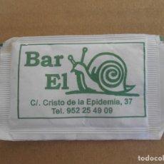 Sobres de azúcar de colección: BAR EL CARACOL. Lote 178337275