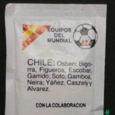 Sobres de azúcar de colección: SOBRE DE AZÚCAR SERIE EQUIPOS DEL MUNDIAL 82 - CHILE. PRATS MERCADER. AESA, 10 GR.. Lote 179385971