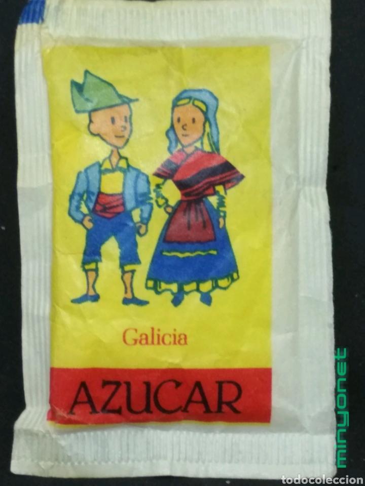 SOBRE DE AZÚCAR SERIE COMUNIDADES AUTÓNOMAS - GALICIA. BARA EZQUERRA, 8 GR. (Coleccionismos - Sobres de Azúcar)