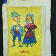 Sobres de azúcar de colección: SOBRE DE AZÚCAR SERIE COMUNIDADES AUTÓNOMAS - GALICIA. BARA EZQUERRA, 8 GR.. Lote 179943507