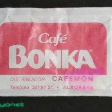 Sobres de azúcar de colección: SOBRE DE AZÚCAR DE CAFÉ BONKA. LOGAR, 10 GR.. Lote 180080323