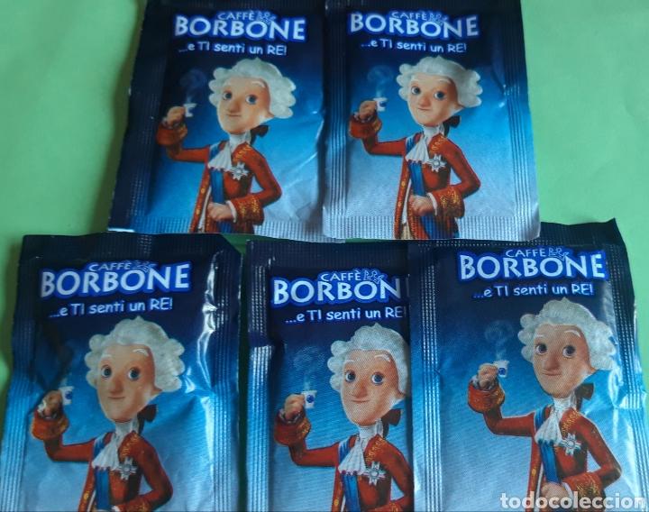 Sobres de azúcar de colección: Coleccion sobres azucar Borbone te sientes como un Rei - Foto 2 - 182246201