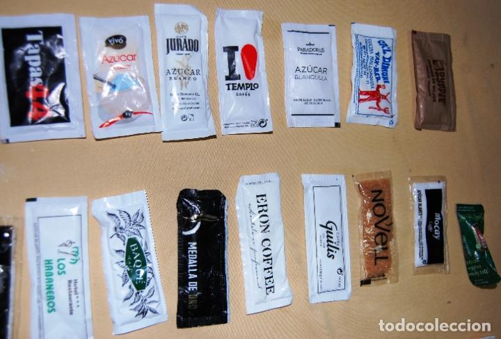 Sobres de azúcar de colección: Colección de 36 sobres de azúcar y 03 de edulcorante diferentes. - Foto 3 - 182324893