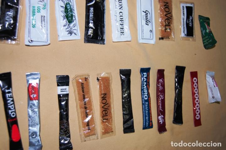 Sobres de azúcar de colección: Colección de 36 sobres de azúcar y 03 de edulcorante diferentes. - Foto 4 - 182324893