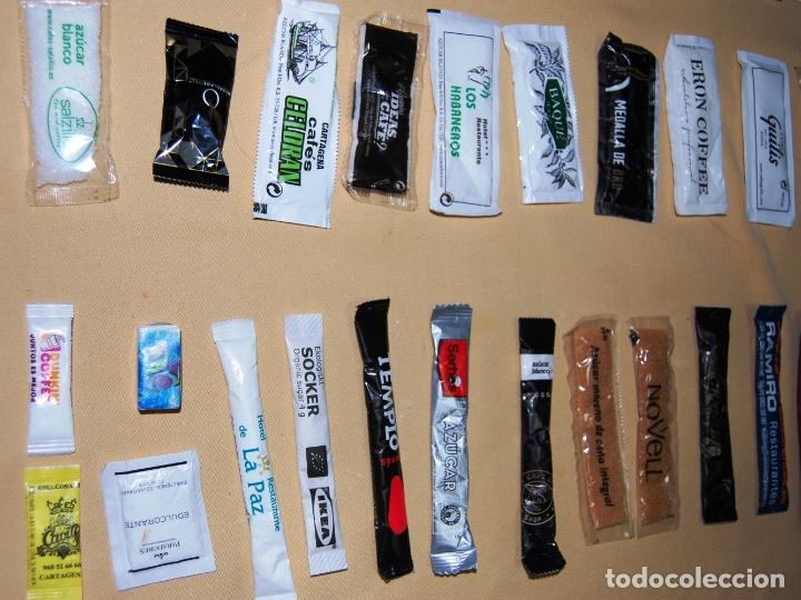 Sobres de azúcar de colección: Colección de 36 sobres de azúcar y 03 de edulcorante diferentes. - Foto 5 - 182324893