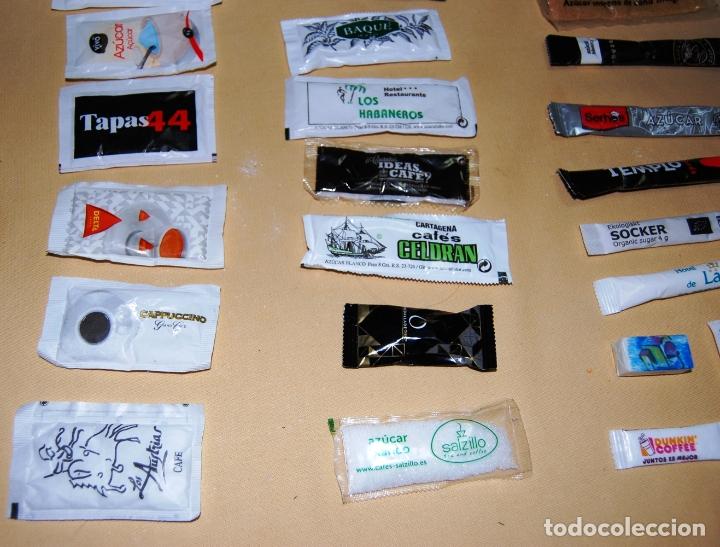 Sobres de azúcar de colección: Colección de 36 sobres de azúcar y 03 de edulcorante diferentes. - Foto 7 - 182324893