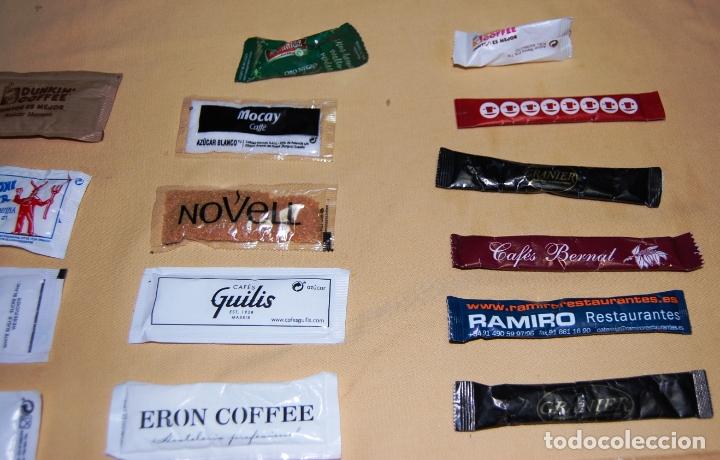 Sobres de azúcar de colección: Colección de 36 sobres de azúcar y 03 de edulcorante diferentes. - Foto 10 - 182324893