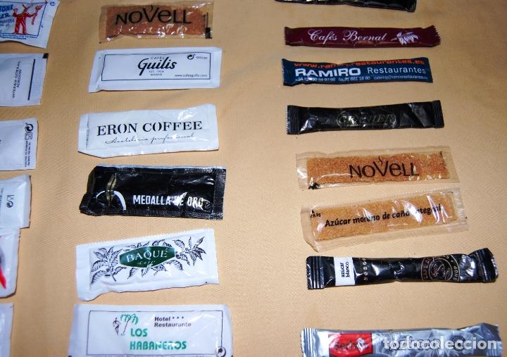 Sobres de azúcar de colección: Colección de 36 sobres de azúcar y 03 de edulcorante diferentes. - Foto 11 - 182324893