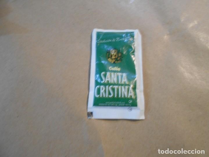 CAFES SANTA CRISTINA-SERIE PLANTAS- (Coleccionismos - Sobres de Azúcar)