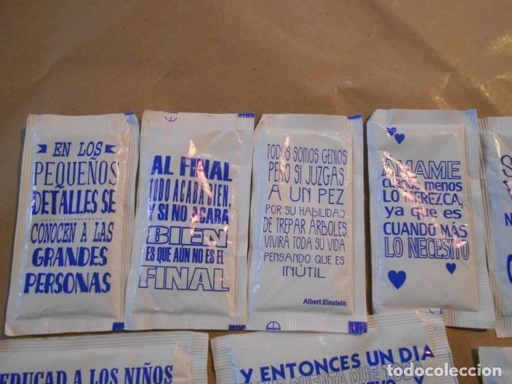 Sobres de azúcar de colección: SOBRES AZUCAR CON FRASES - Foto 4 - 182720937