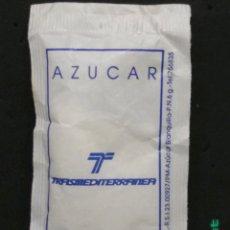 Sobres de azúcar de colección: SOBRE DE AZÚCAR DE TRANSMEDITERRANEA. CAFÉ RICO, 6 GR.. Lote 183257095