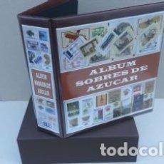 Sobres de azúcar de colección: ALBUM SUPERMAMUT ILUSTRADO PARA SOBRES AZUCAR.GRAN CAPACIDAD.. Lote 183294792