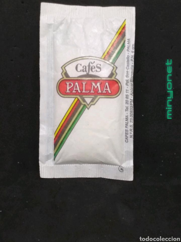 Sobres de azúcar de colección: Sobre de azúcar de Cafés Palma. 6 gr. - Foto 2 - 183770807