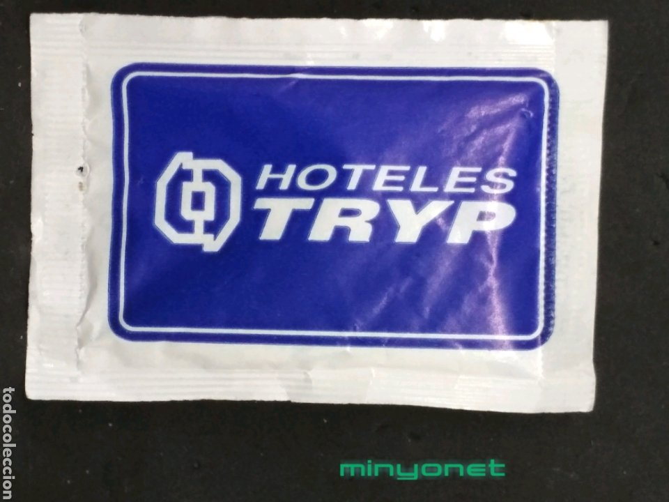 Sobres de azúcar de colección: Sobre de azúcar de Hoteles Tryp. 8 gr. - Foto 2 - 183771713