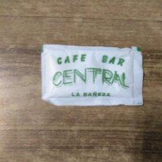 Sobres de azúcar de colección: MFF.- ESTUCHE DE AZUCAR. CAFE- BAR CENTRAL.- LA BAÑEZA. LEON.-. Lote 187114431