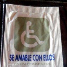 Bustine di zucchero di collezione: SOBRE DE AZÚCAR - EMICELA - SE AMABLE CON ELLOS - VER FOTOS. Lote 187198755
