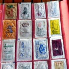 Sobres de azúcar de colección: 16 SOBRES AZÚCAR - NOMINATIVOS - PROVINCIA DE BARCELONA - (VER FOTOS). Lote 263183695
