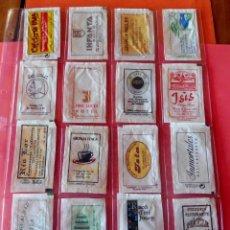 Sobres de azúcar de colección: 16 SOBRES AZÚCAR - NOMINATIVOS - BARCELONA - (VER FOTOS). Lote 263183735