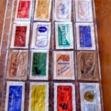 Sobres de azúcar de colección: 16 SOBRES DE AZÚCAR - NOMINATIVOS - PROVINCIA DE BARCELONA - VER FOTOS. Lote 263183600