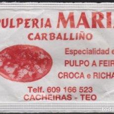 Sobres de azúcar de colección: SOBRE AZÚCAR ESPAÑA PUBLICIDAD SUGAR SUCRE. Lote 190779583