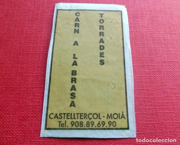Sobres de azúcar de colección: ANTIGUO SOBRE AZÚCAR - JAN FABREGAN RESTAURANT - CASTELLTERCOL - VACÍOS - (VER FOTOS) - Foto 2 - 191855275