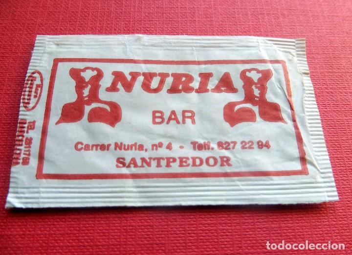 ANTIGUO SOBRE AZÚCAR - NURIA BAR SANTPEDOR - VACÍOS - (VER FOTOS) (Coleccionismos - Sobres de Azúcar)
