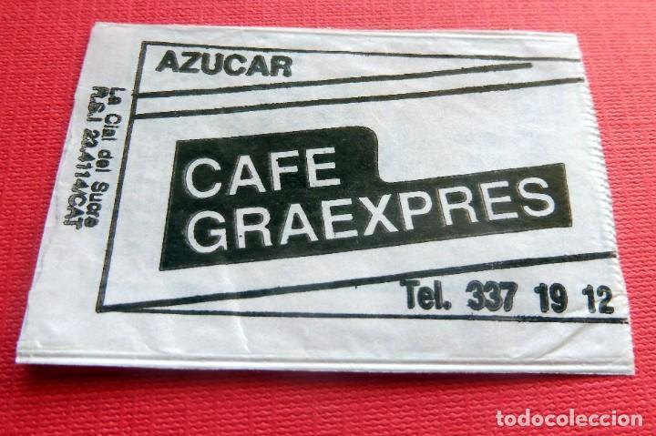 Sobres de azúcar de colección: ANTIGUO SOBRE AZÚCAR - BAR RESTAURANTE LA ESPUELA - SANT FELIU DE LLOBREGAT - VACÍOS - (VER FOTOS) - Foto 2 - 191857795