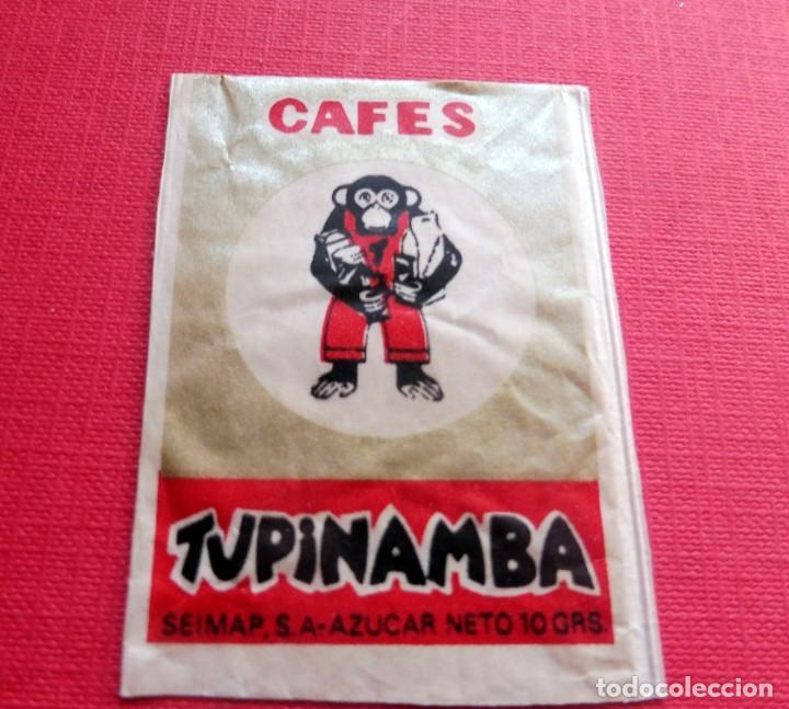 ANTIGUO SOBRE AZÚCAR - CAFÉS TUPINAMBA - VACÍOS - (VER FOTOS) (Coleccionismos - Sobres de Azúcar)