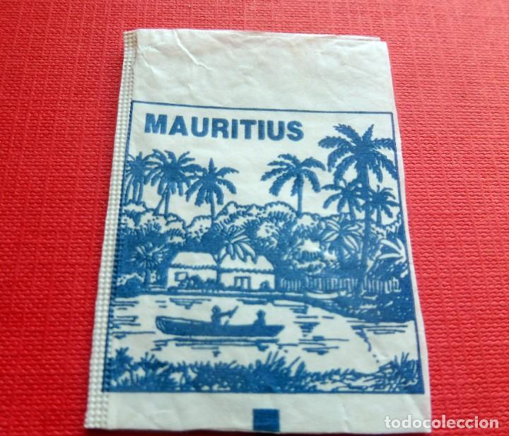 ANTIGUO SOBRE AZÚCAR - MAURITIUS - VACÍOS - (VER FOTOS) (Coleccionismos - Sobres de Azúcar)