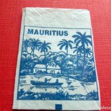 Sobres de azúcar de colección: ANTIGUO SOBRE AZÚCAR - MAURITIUS - VACÍOS - (VER FOTOS). Lote 191858333