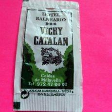 Bustine di zucchero di collezione: SOBRE AZÚCAR - HOTEL BALNEARI - VICHY CATALAN - CALDAS DE MALAVELLA - GIRONA (VER FOTOS) - . Lote 194161817