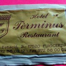 Sobres de azúcar de colección: SOBRE AZÚCAR - HOTEL TÈRMINUS - PUIGCERDÀ - GIRONA - (VER FOTOS) - . Lote 194520793