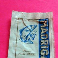 Sobres de azúcar de colección: SOBRE AZÚCAR - RESTAURANT MADRIGAL - PUIGCERDÀ - GIRONA - (VER FOTOS) - . Lote 194524520
