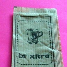 Sobres de azúcar de colección: SOBRE AZÚCAR - LA XICRA - PUIGCERDÀ - GIRONA - (VER FOTOS) - . Lote 194524606