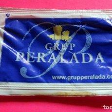 Sobres de azúcar de colección: SOBRE DE AZÚCAR - GRUP PERALADA - PERALADA - GIRONA - (VER FOTOS) - . Lote 194616768