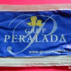 Sobres de azúcar de colección: SOBRE DE AZÚCAR - GRUP PERALADA - PERALADA - GIRONA - (VER FOTOS) - . Lote 194616812