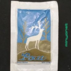 Sobres de azúcar de colección: SOBRE DE AZÚCAR SERIE NAVIDAD - PAU - PAZ. AESA, 10 GR.. Lote 194759337